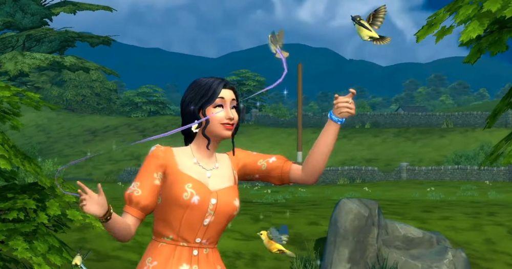 Los Sims 4 Pájaros