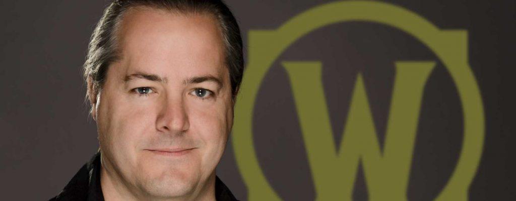 Título del jefe de WoW Blizzard, J Allen Brack