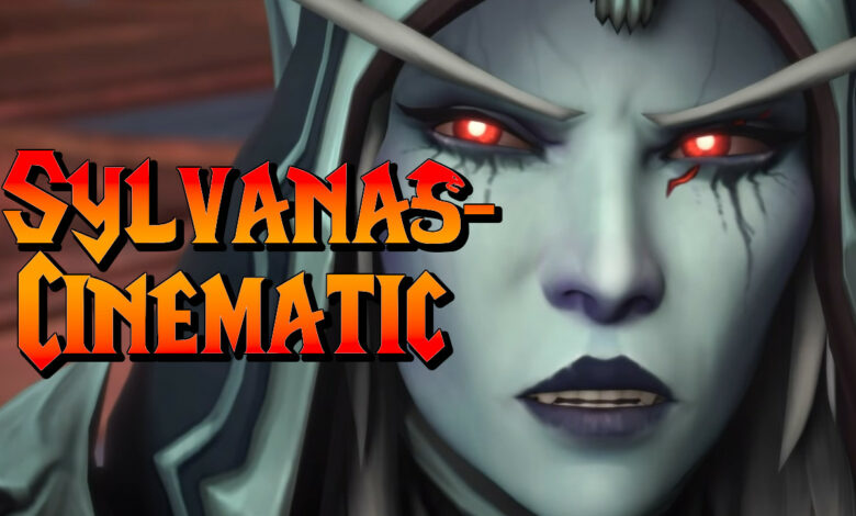 WoW: Fate of the Shadowlands - La cinemática de Sylvanas
