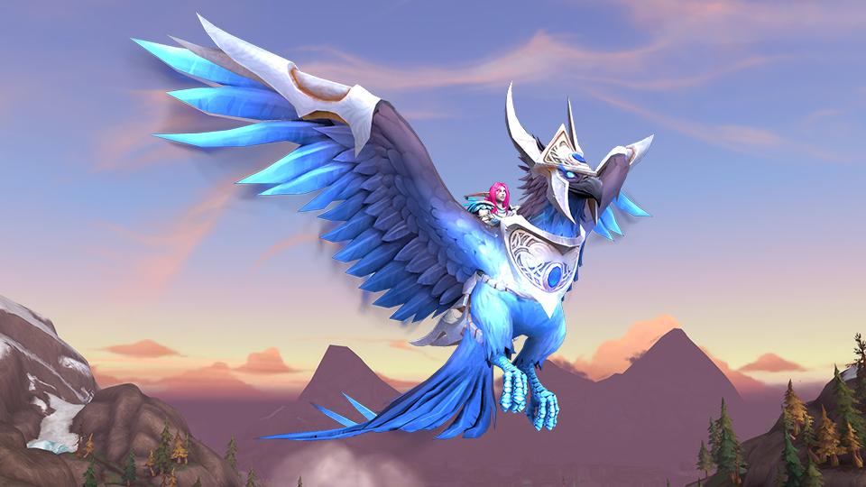 Montaje WoW Blue Phoenix