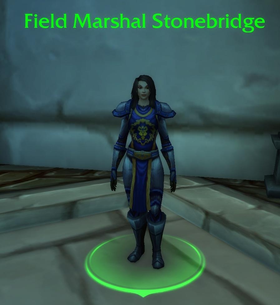 Mariscal de campo de WoW Stonebridge
