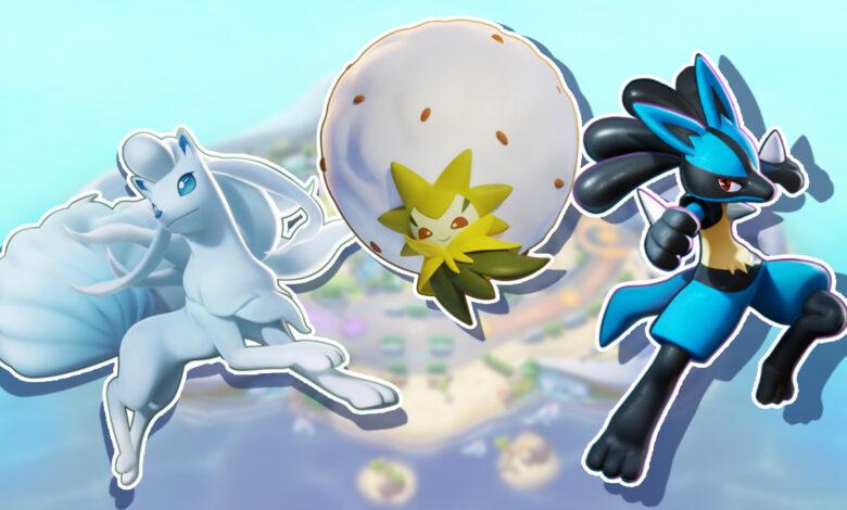 ¿Qué Pokémon de Pokémon Unite son tus favoritos?
