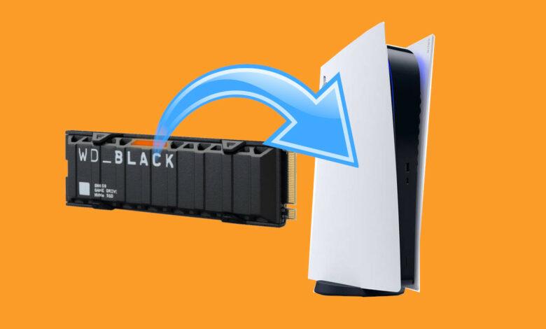 ¿Qué sucede si instala un SSD incompatible en su PS5?