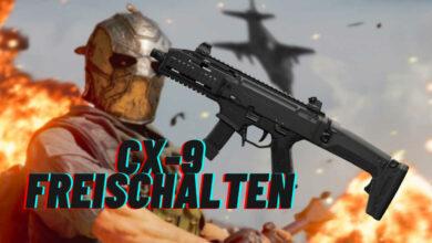 CoD MW & Warzone: Desbloquea una nueva arma CX-9 - La metralleta puede hacer eso