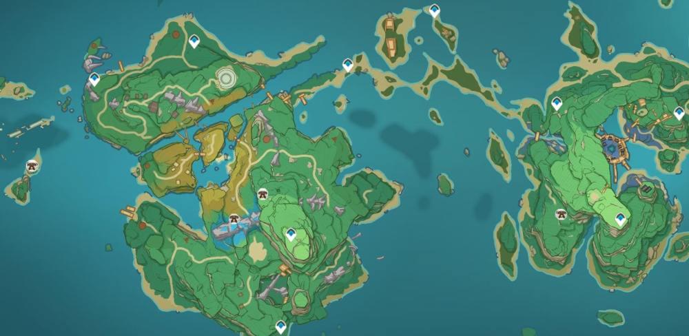 Ubicaciones de la segunda y tercera isla de Ruin Sentinel