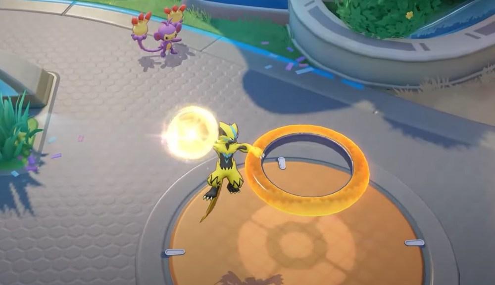 guía de zeraora de la unidad de pokemon, movimientos de zeraora de la unidad de pokemon, elementos de zeraora de la unidad de pokemon, consejos de zeraora de la unidad de pokemon, carril de zeraora de la unidad de pokemon