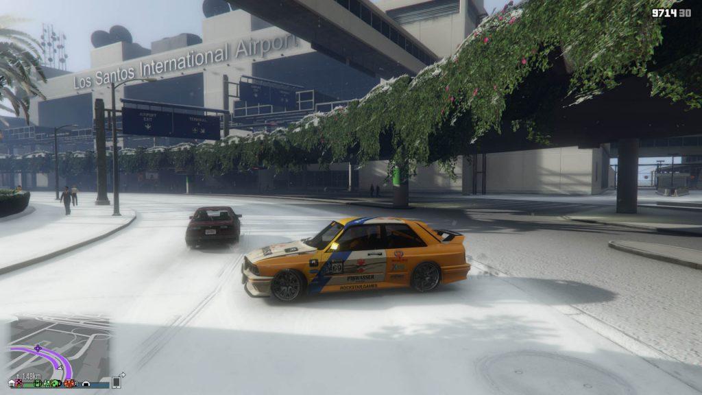GTA Online BMW Drift