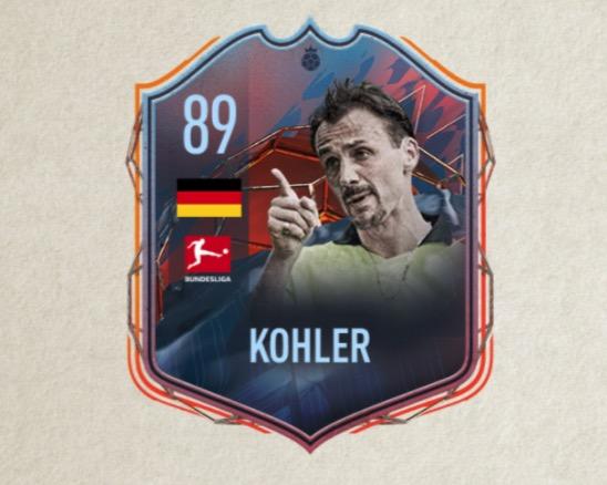 FIFA 22 Kohler