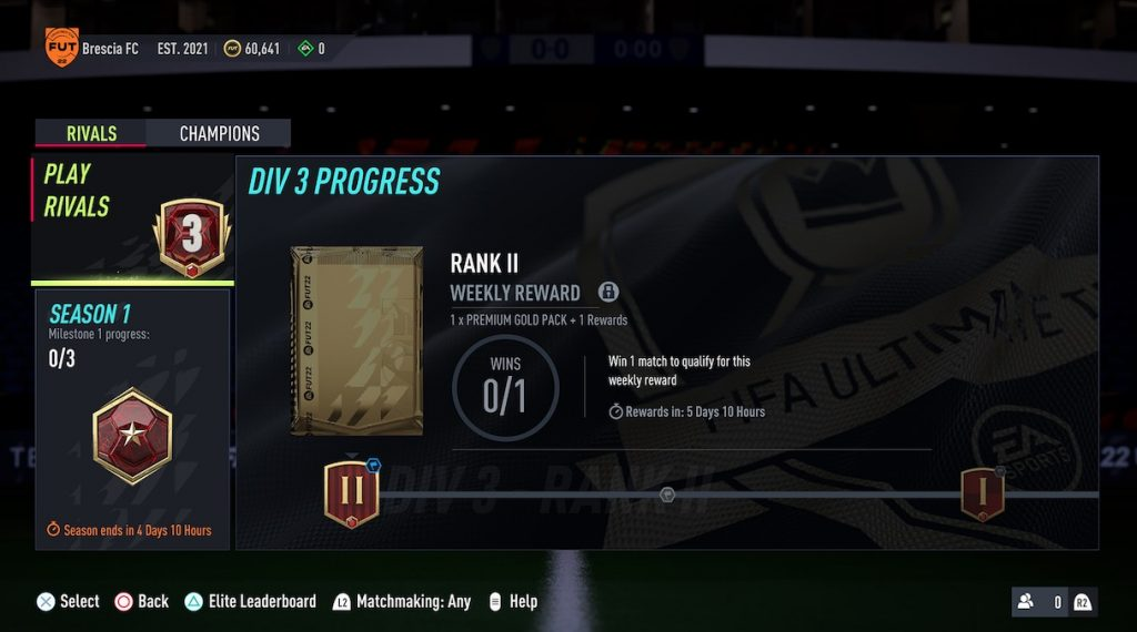 Rivales de la División FIFA 22