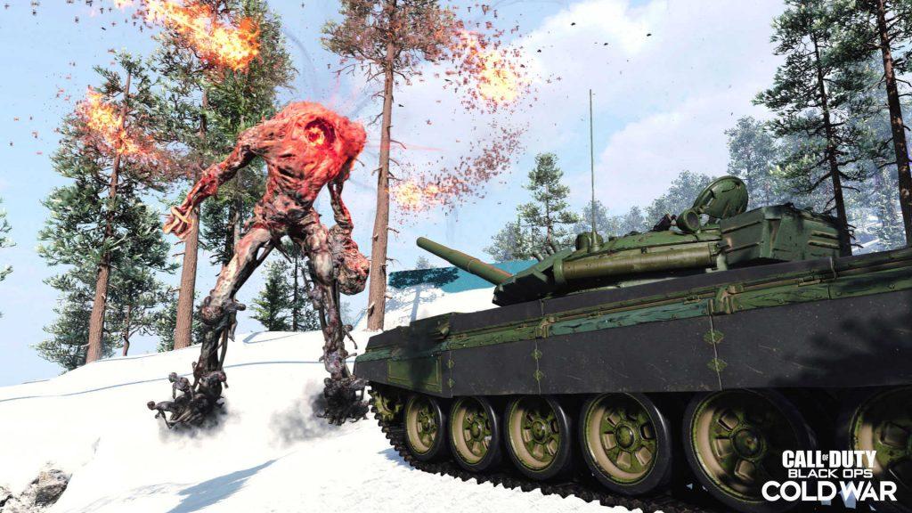 bacalao frío fue zombies brote tanques