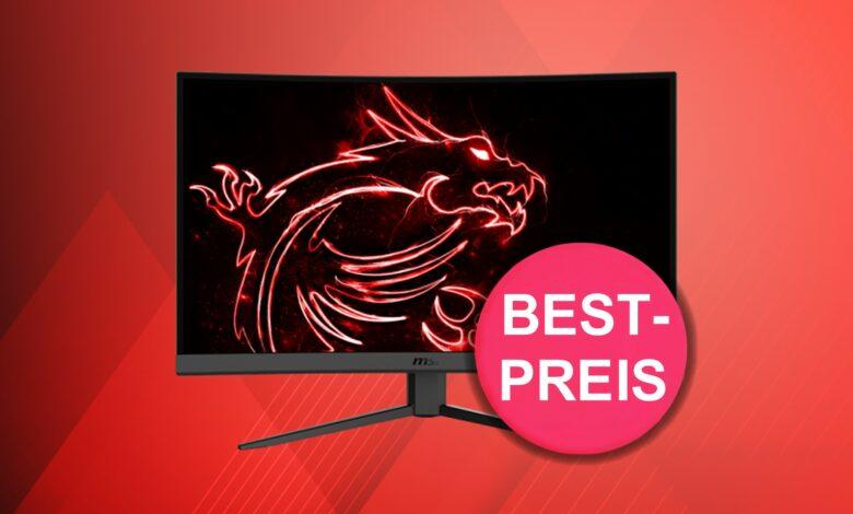 El monitor para juegos MSI con 165 Hertz es actualmente más barato que nunca en Mindfactory