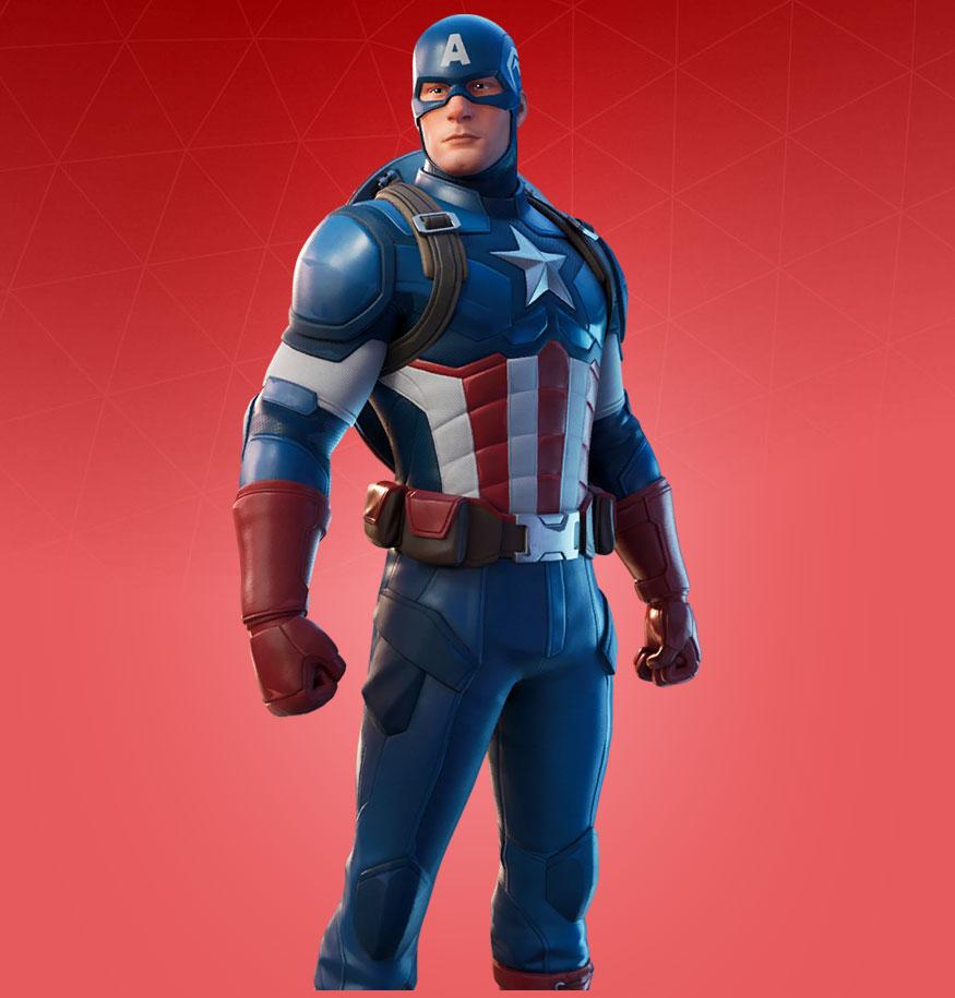 """fortnite-skin-captain-america """"class ="""" wp-image-711283 """"srcset ="""" http://dlprivateserver.com/wp-content/uploads/2021/08/1629194043_352_Aqui-estan-las-29-mascaras-de-Marvel-de-Fortnite-¿las.jpg 875w, https : //images.mein-mmo.de/medien/2021/08/fortnite-skin-captain-america-287x300.jpg 287w, https://images.mein-mmo.de/medien/2021/08/fortnite- skin-captain-america-143x150.jpg 143w, https://images.mein-mmo.de/medien/2021/08/fortnite-skin-captain-america-768x803.jpg 768w """"tamaños ="""" (ancho máximo: 875px) 100vw, 875px """"> Capitán América      <p><strong>¿Cuándo se soltó la piel?</strong> El Capitán América fue llevado a la tienda de artículos por primera vez en el Capítulo 2 Temporada 3 el 3 de julio de 2020 por 2,000 V-Bucks.</p> <h3 id="""