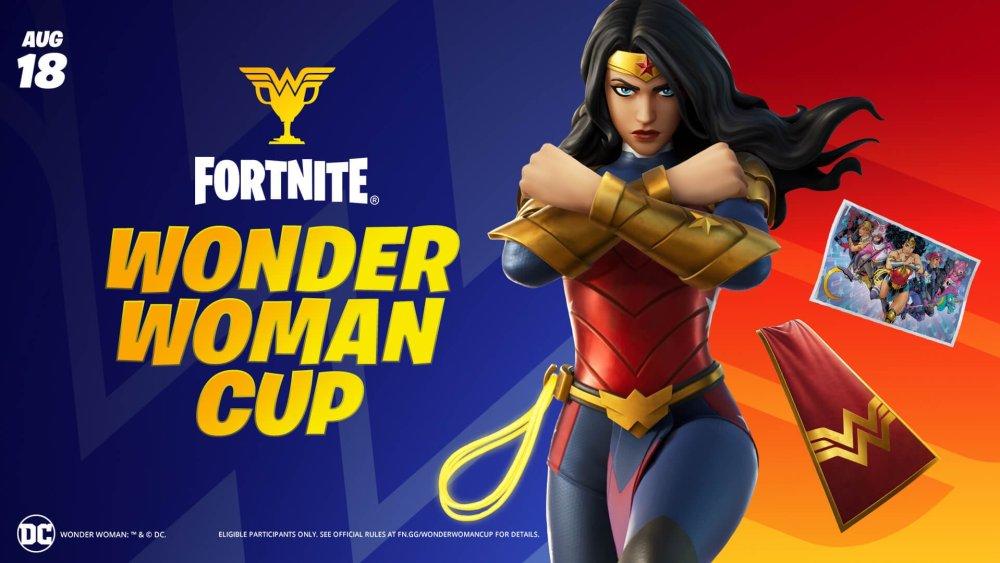 Copa de la Mujer Maravilla Fortnite