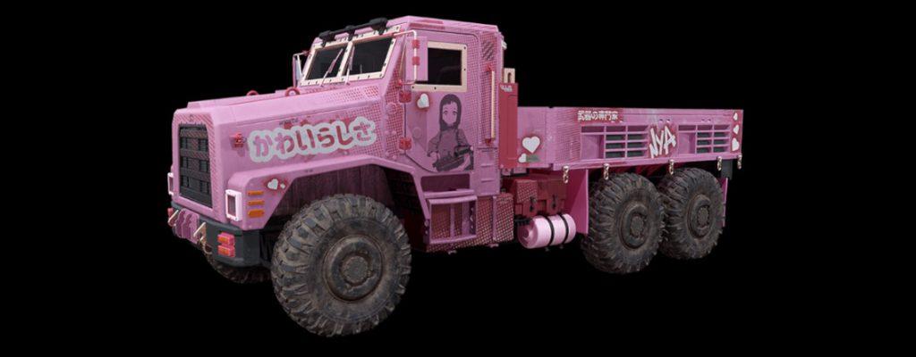 bacalao zona de guerra vehículos camión animado expreso rosas