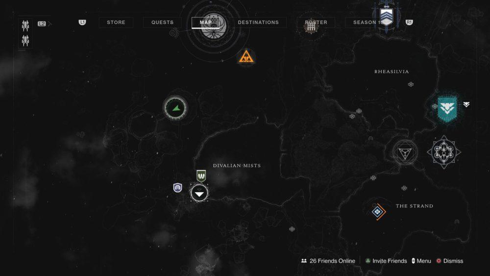 ubicaciones de atlas asimétrico