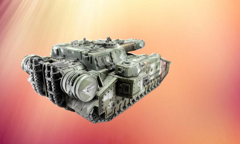 Los aficionados convierten los tanques de Warhammer en estuches de PC locos