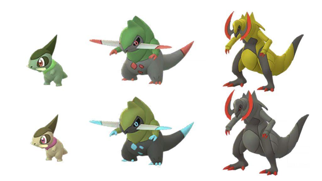 Pokémon GO Familia Spleen Shiny