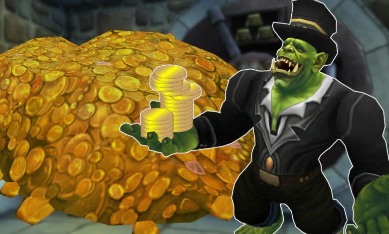 3 formas de ganar rápidamente mucho oro en WoW: Shadowlands