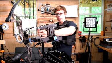 Aficionado construye un bot de puntería para usar en la vida real