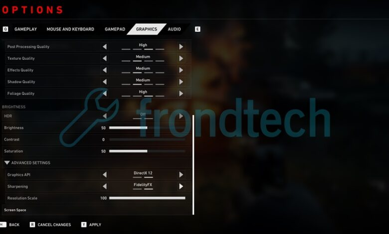 Back 4 Blood - Guía de configuración de gráficos