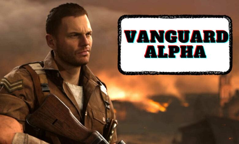 CoD Vanguard: Alpha comienza esta semana y usted participa: plataforma, precarga, contenido
