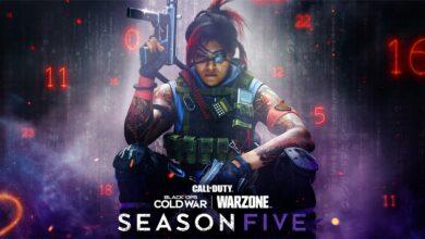 CoD Warzone finalmente revela la fecha de inicio de la temporada 5: muestra el primer avance