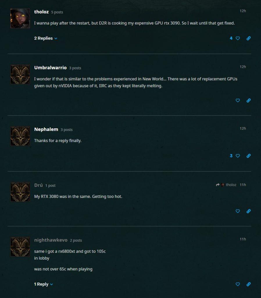Tarjetas gráficas Resurrected de Diablo 2 Hot