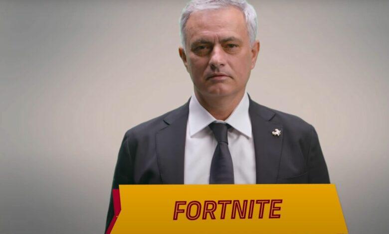 """El entrenador de fútbol José Mourinho llama a Fortnite una """"pesadilla"""" y una """"mierda"""""""