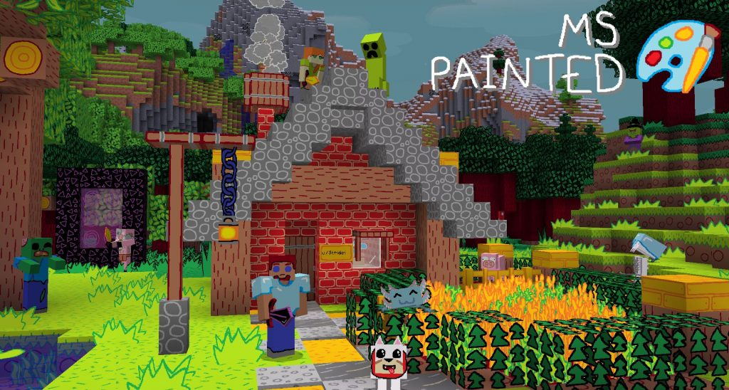 Paquete de texturas pintadas de Minecraft MS 2