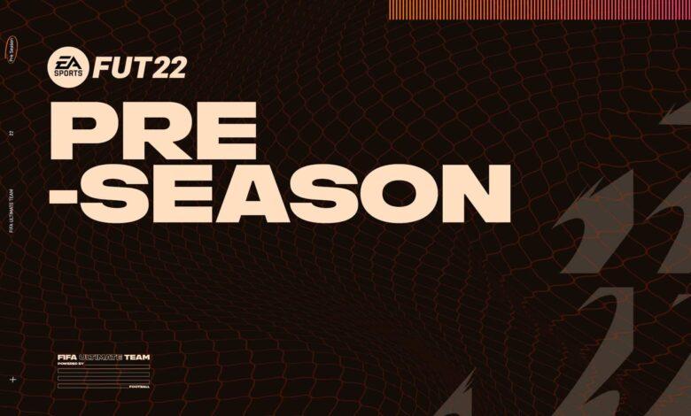 FIFA 21: Detalles oficiales de la pretemporada de FUT 22