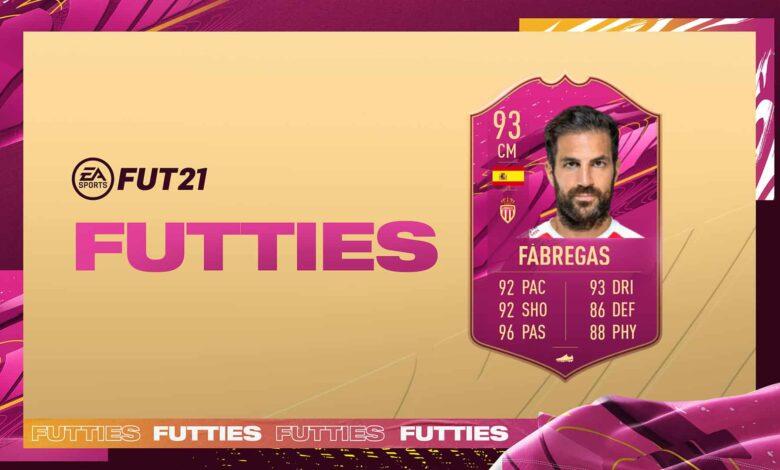 FIFA 21: SBC Cesc Fábregas FUTTIES - Estos son los requisitos