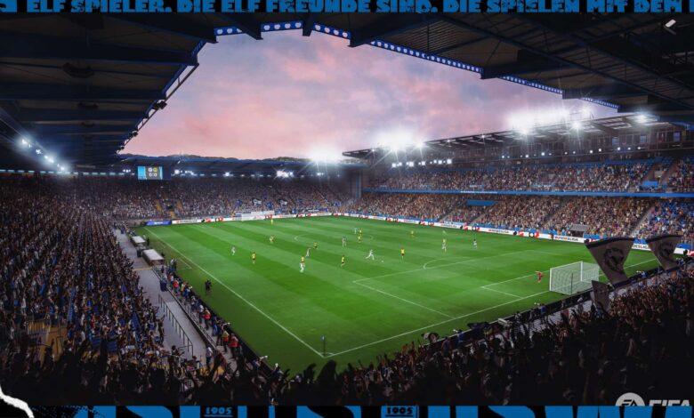 FIFA 22: SchucoArena - Un nuevo estadio para la Bundesliga