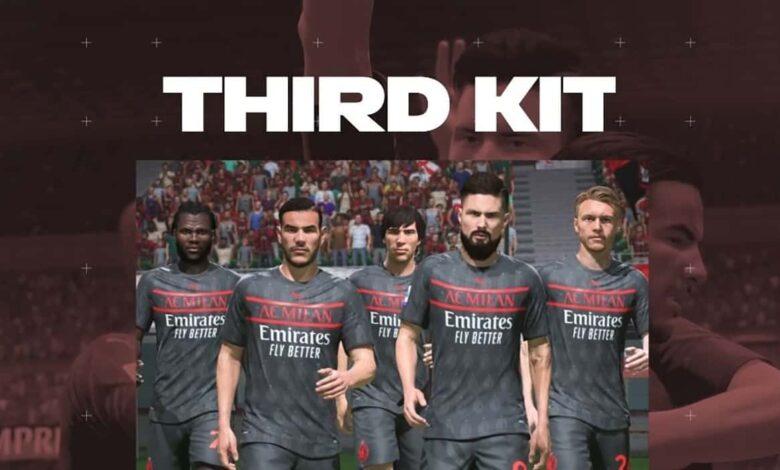 FIFA 22: se ha presentado la tercera equipación del Milán para la temporada 2021/22