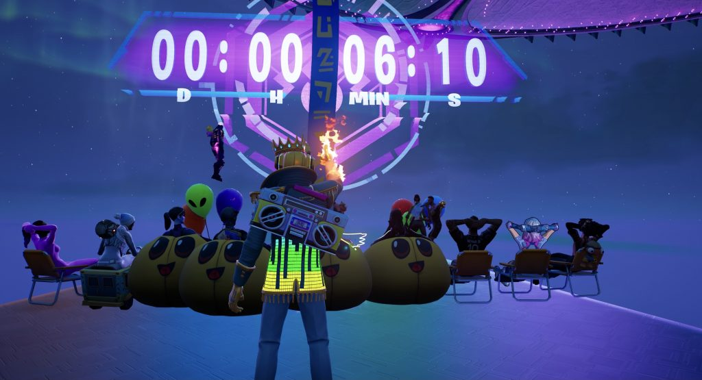 """Fortnite-Ariana-Grande-concert-lobby-depend """"data-id ="""" 708605 """"data-full-url ="""" https://images.mein-mmo.de/medien/2021/08/Fortnite-Ariana-Grande- Concierto-lobby-depend-scaled.jpg """"data-link ="""" https://mein-mmo.de/?attachment_id=708605 """"class ="""" wp-image-708605 """"srcset ="""" https: //images.mein- mmo.de/medien/2021/08/Fortnite-Ariana-Grande-Konzert-Lobby-abhaben-1024x555.jpg 1024w, https://images.mein-mmo.de/medien/2021/08/Fortnite-Ariana-Grande -Concierto-Lobby-hang-off-300x163.jpg 300w, https://images.mein-mmo.de/medien/2021/08/Fortnite-Ariana-Grande-Konzert-Lobby-abbaren-150x81.jpg 150w, https : / /images.mein-mmo.de/medien/2021/08/Fortnite-Ariana-Grande-Konzert-Lobby-abhaben-768x416.jpg 768w, https://images.mein-mmo.de/medien/2021/ 08 / Fortnite-Ariana-Grande-Concert-Lobby-hang-1536x833.jpg 1536w, https://images.mein-mmo.de/medien/2021/08/Fortnite-Ariana-Grande-Konzert-Lobby-abbaren-2048x1111 .jpg 2048w, https://images.mein-mmo.de/medien/2021/08/Fortnite-Ariana-Grande-Konzert-Lobby-abhän gen-250x135.jpg 250w """"tamaños ="""" (ancho máximo: 1024px) 100vw, 1024px """"> Colgando del OVNI</li> <li class="""