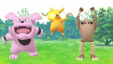 Los entrenadores de Pokémon GO recuperan animaciones geniales en la máscara de captura