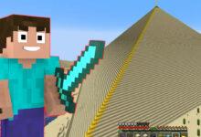 Los jugadores incondicionales construyen pirámides a partir de más de 125.000 bloques en Minecraft