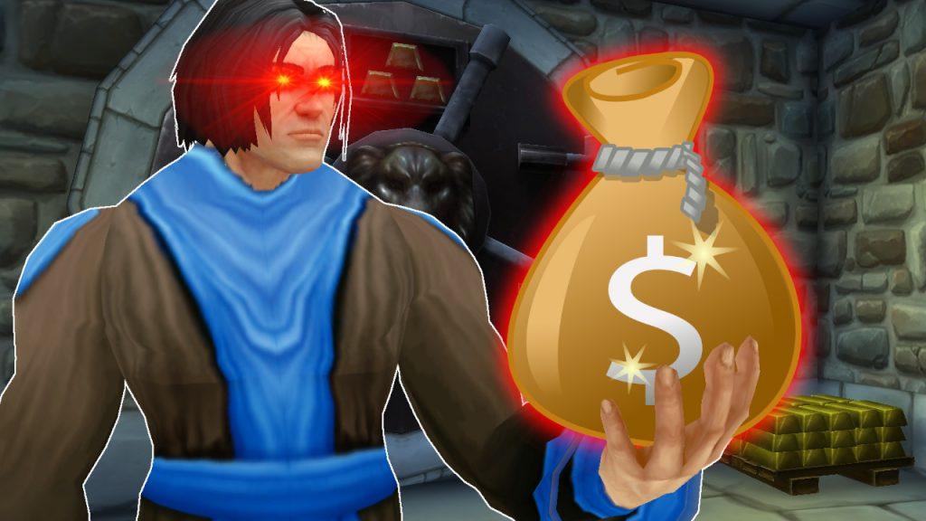 Título de WoW Game Master Money Bag 1280x720