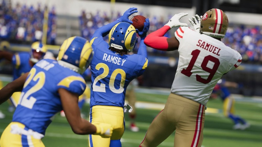 Madden NFL 22 - Jalen Ramsey y Deebo Samuel