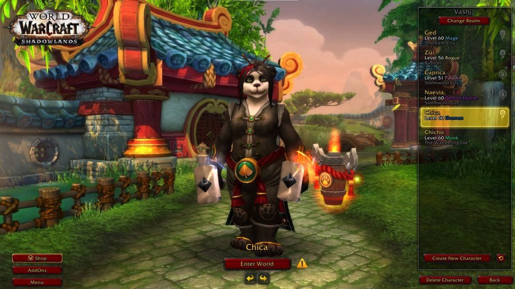WoW Chica Pandaren Nivel 60-2