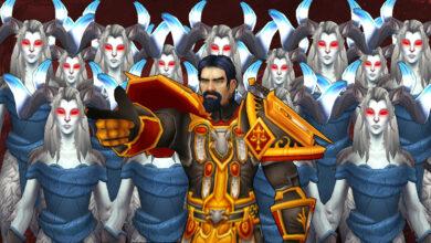 Paladin construye un ejército loco a partir de 100 NPC en WoW, masacra a los jugadores