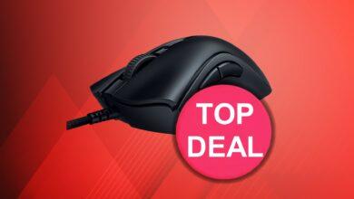 Pequeño mouse para juegos de Razer actualmente a un precio de martillo en OTTO.de