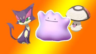 Pokémon GO: Ditto List: con estos monstruos puedes atrapar a Ditto