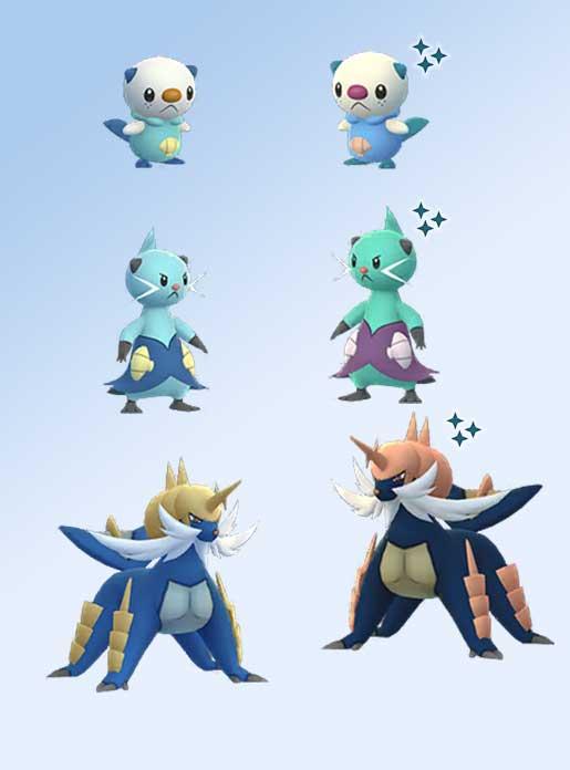 Pokémon GO Ottaro Shiny Family