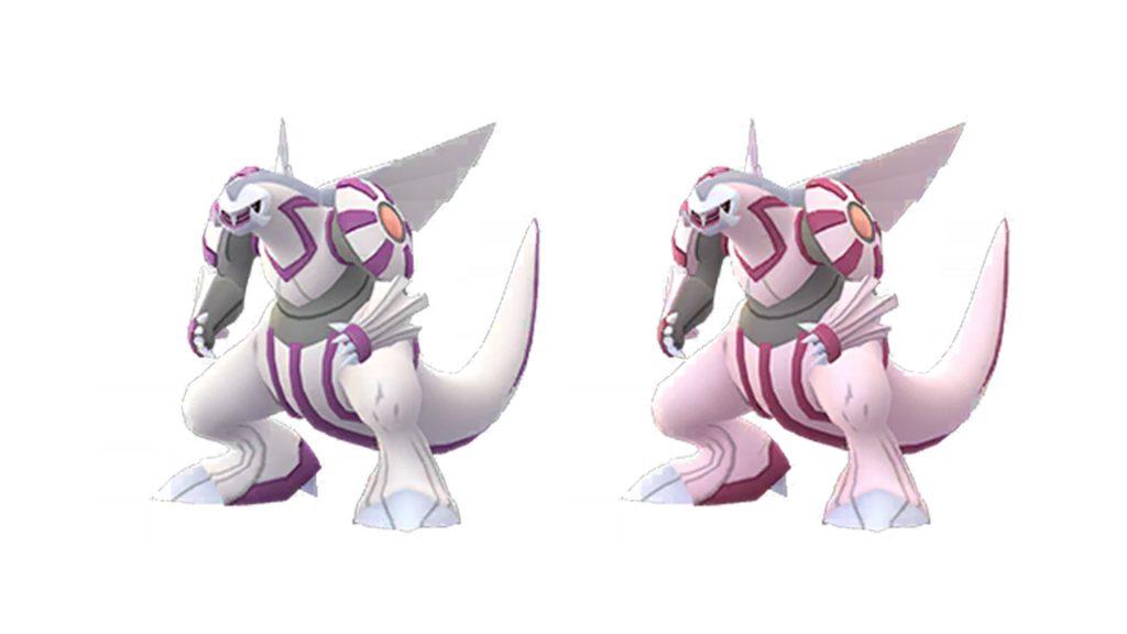 Pokémon GO Palkia Shiny