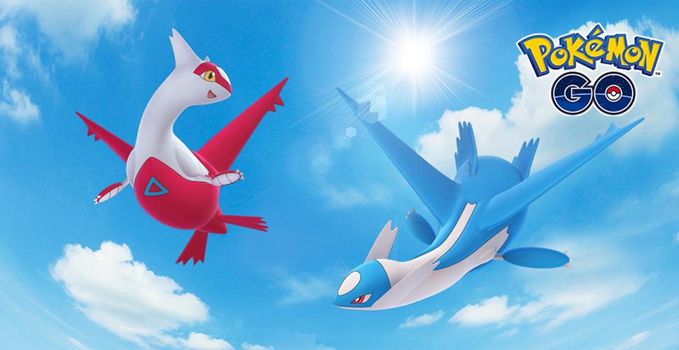 Título de Pokémon GO Latios Latias