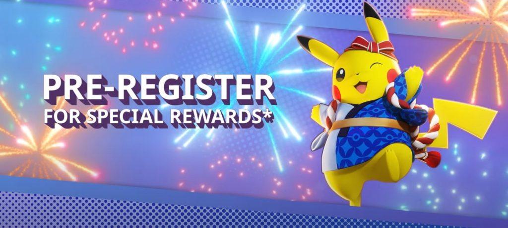 Registro de Pokémon Unite