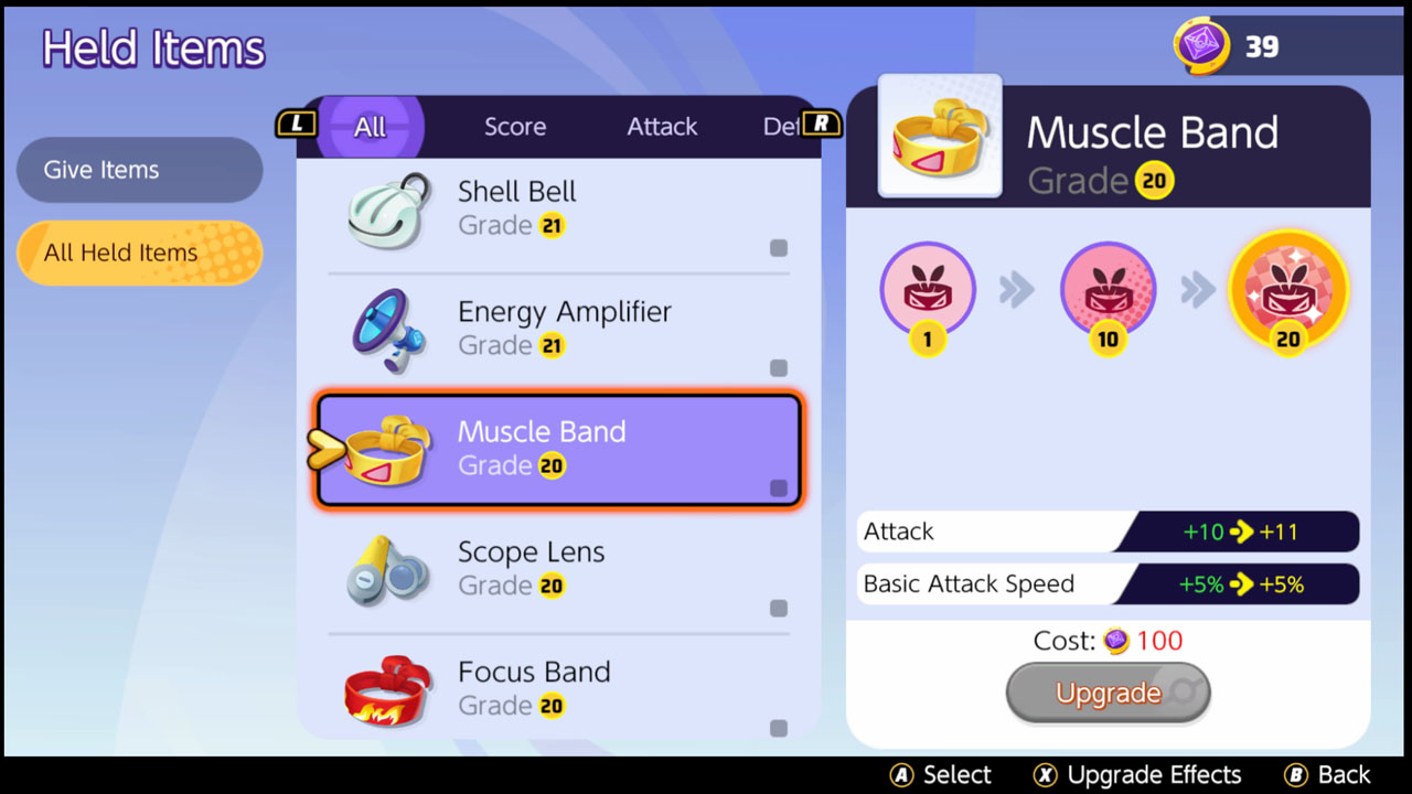 Unite Item Muscle Band