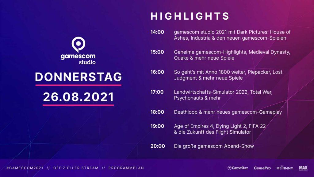 """programa de gamescom jueves """"class ="""" wp-image-713212 """"srcset ="""" http://dlprivateserver.com/wp-content/uploads/2021/08/gamescom-2021-El-calendario-completo-del-programa-para-los-3.jpg 1024w, https: / / images .mein-mmo.de / medien / 2021/08 / gamescom-Programm-Donnerstag-300x169.jpg 300w, https://images.mein-mmo.de/medien/2021/08/gamescom-Programm-Donnerstag- 150x84. jpg 150w, https://images.mein-mmo.de/medien/2021/08/gamescom-Programm-Donnerstag-768x432.jpg 768w, https://images.mein-mmo.de/medien/2021/ 08 / gamescom-Programm-Thursday-1536x864.jpg 1536w, https://images.mein-mmo.de/medien/2021/08/gamescom-Programm-Donnerstag-780x438.jpg 780w, https: //images.mein- mmo. de / medien / 2021/08 / gamescom-Programm-Donnerstag.jpg 1920w """"tamaños ="""" (ancho máximo: 1024px) 100vw, 1024px """">  <table> <tbody> <tr> <td><strong>tiempo</strong></td> <td><strong>programa</strong></td> </tr> <tr> <td>14:00</td> <td>gamescom studio 2021</td> </tr> <tr> <td>14:15</td> <td>Nuevo @ gamescom – Tráiler y jugabilidad</td> </tr> <tr> <td>14:35</td> <td>Imágenes oscuras: Casa de las cenizas </td> </tr> <tr> <td>14:40</td> <td>Industria </td> </tr> <tr> <td>14:45</td> <td>¡Esto es gamescom 2021! </td> </tr> <tr> <td>14:50</td> <td>Lo más destacado de ONL y recogida en la comunidad </td> </tr> <tr> <td>15:00</td> <td>Top Secret – presentación secreta del juego </td> </tr> <tr> <td>15:15</td> <td>Nuevo @ gamescom – Tráiler y jugabilidad </td> </tr> <tr> <td>15:35</td> <td>Terremoto </td> </tr> <tr> <td>15:40</td> <td>Dinastía medieval – Camino a 1.0 </td> </tr> <tr> <td>15:50</td> <td>Llamemos evasión de juegos</td> </tr> <tr> <td>16:00</td> <td>El futuro de Anno 1800 </td> </tr> <tr> <td>16:15</td> <td>Nuevo @ gamescom – Tráiler y jugabilidad </td> </tr> <tr> <td>16:35</td> <td>Empacador de tarta </td> </tr> <tr> <td>16:40</td> <td>Juicio perdido </td> </tr> <tr> <td>16:50</td> <td>Lo más destacado de ONL y recogida en la comunidad</td> </tr> <tr> <td>17:00</td> <td>Farming Simulator 2022 </td"""