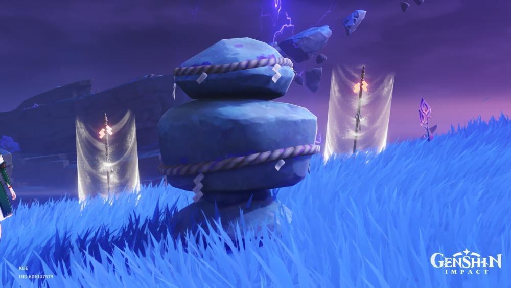 Las piedras protectoras de la manifestación del trueno serán Stormcahsers