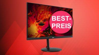 Monitor de juegos Acer con hasta 390 Hertz al precio más bajo en Cyberport.de